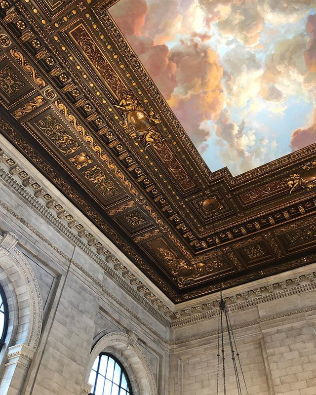 Quite possibly my favorite place in this city 💕 #newyorkpubliclibrary #architecture