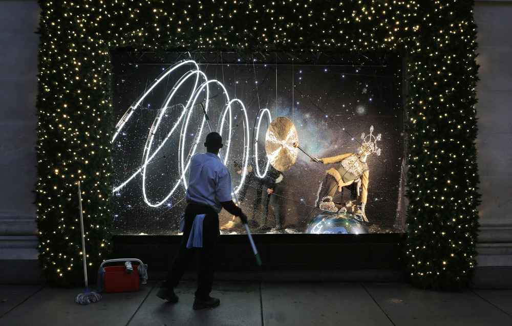 Selfridges Christmas Windows 2015_Journey to the Stars_Zodiac Aquarious2... 2.jpg