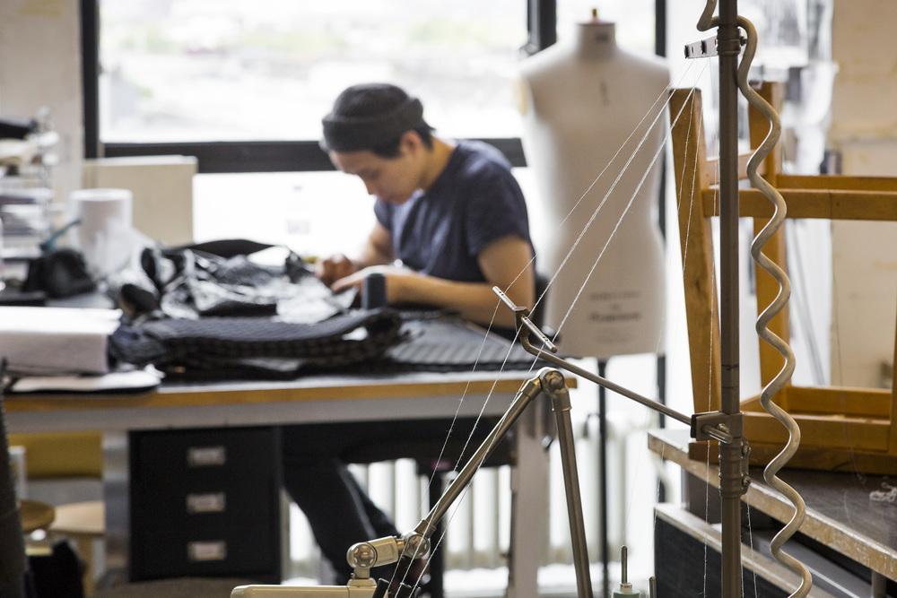 스튜디오에서 작업하는 학생들 ©RCA제공