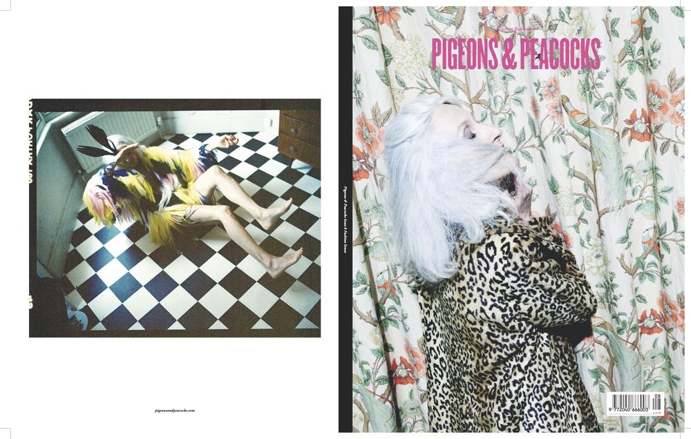 <Pigeons & Peacocks> Issue #8, 런던 컬리지 오브패션에서 발행하는 독립 잡지로저널과 디자인 뿐만아니라 다양한 아티스트들의 작품을 선보인다.