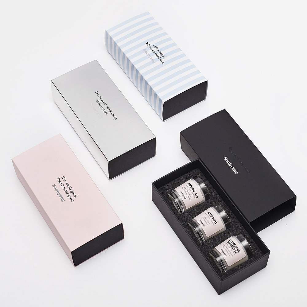 Based on 33 scents Villa Soohyang biannually suggests collection to meet customers character, preference, season and purpose. Except core 2 scents, other scents ins and outs for the each collection.
