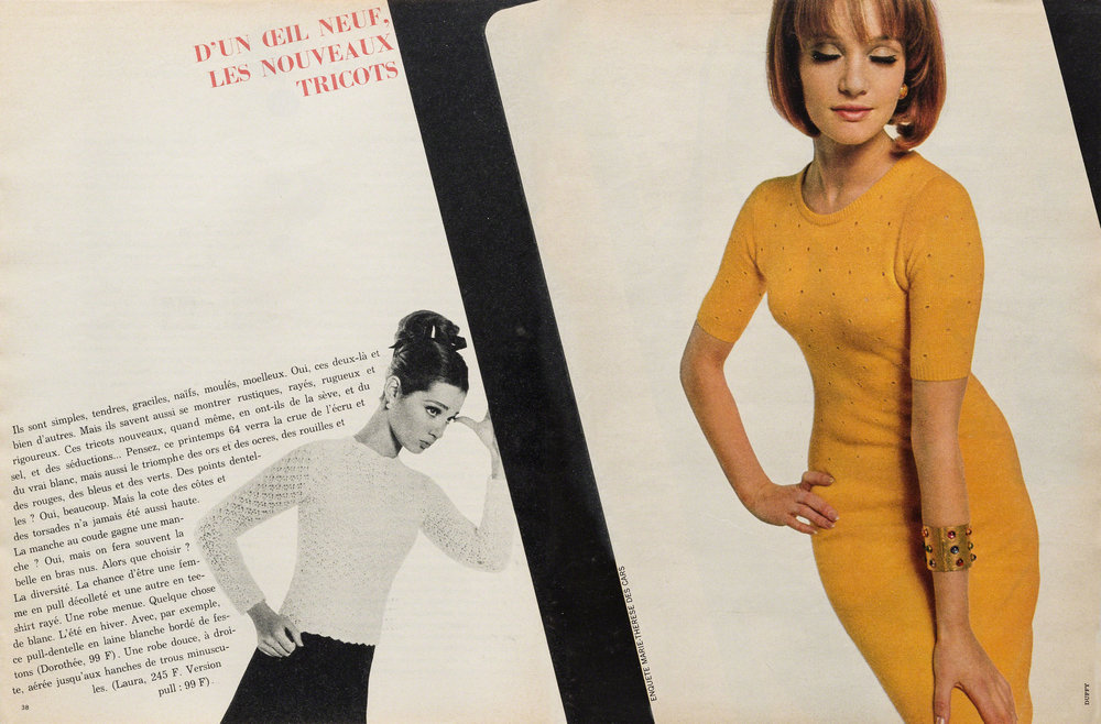 Elle FranceN° 944, 1964, Paris (Hrsg.), Art Director: Peter Knapp, Zeitschriften
