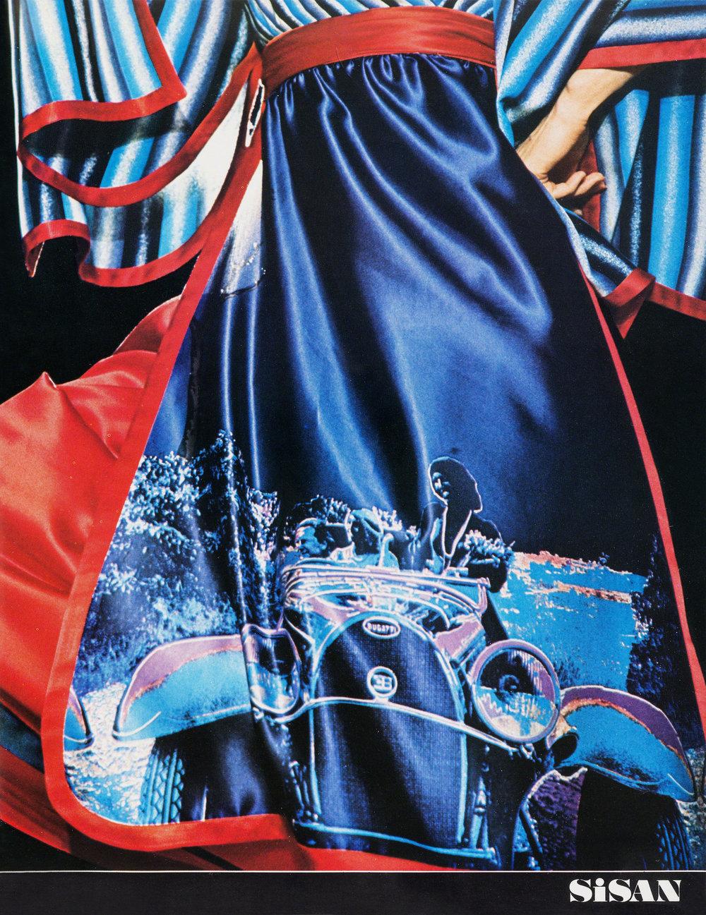 Harper's Bazaar Italia.  Emanuel Ungaro couture, 1977