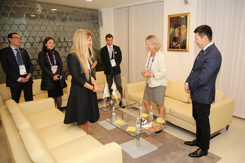 Exchange Hungary-UK-Kazakhstan
