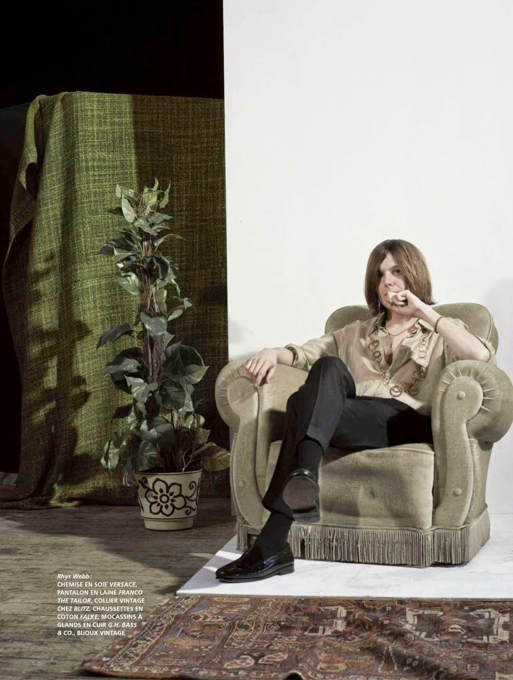 The Horrors - L'Officiel Hommes - ph. Johnny Dufort