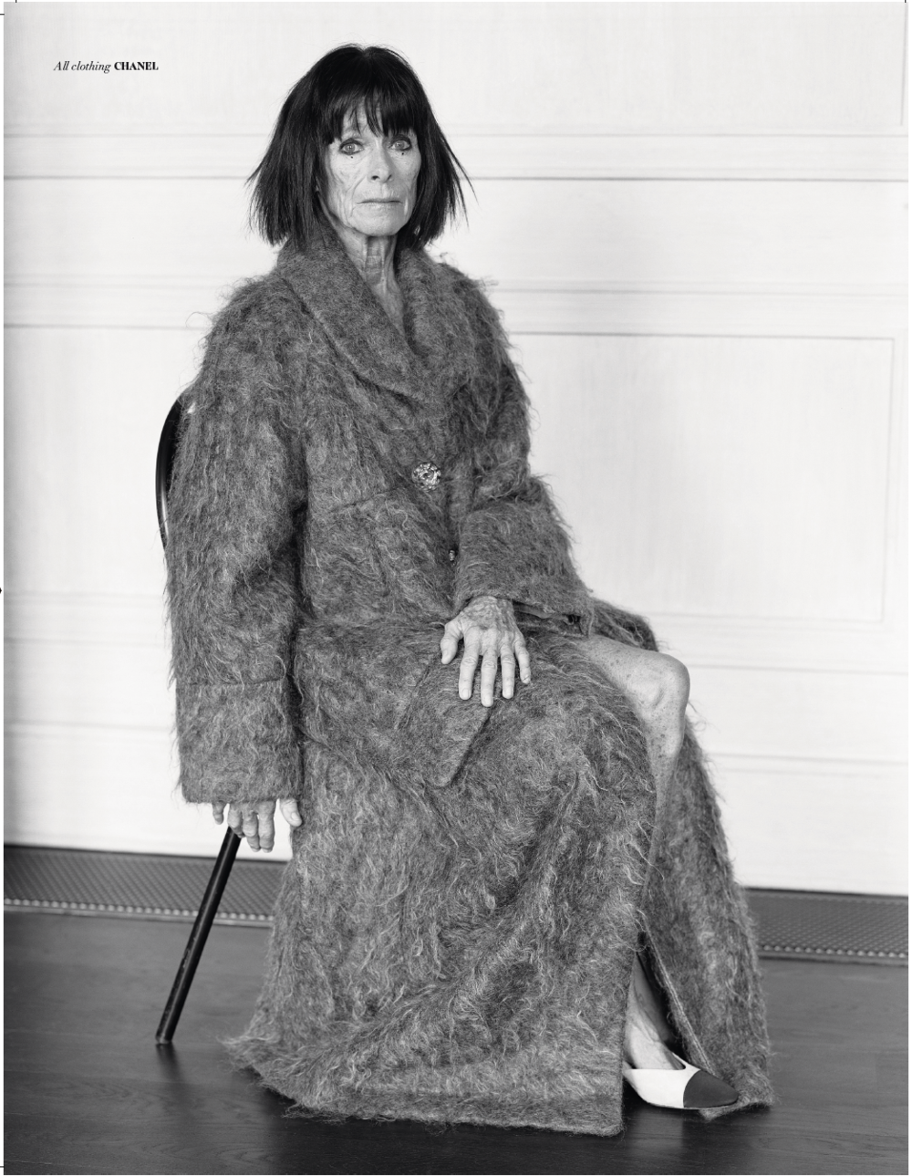 Geraldine Chaplin in Violet Issue 4 - ph. Thomas Hauser