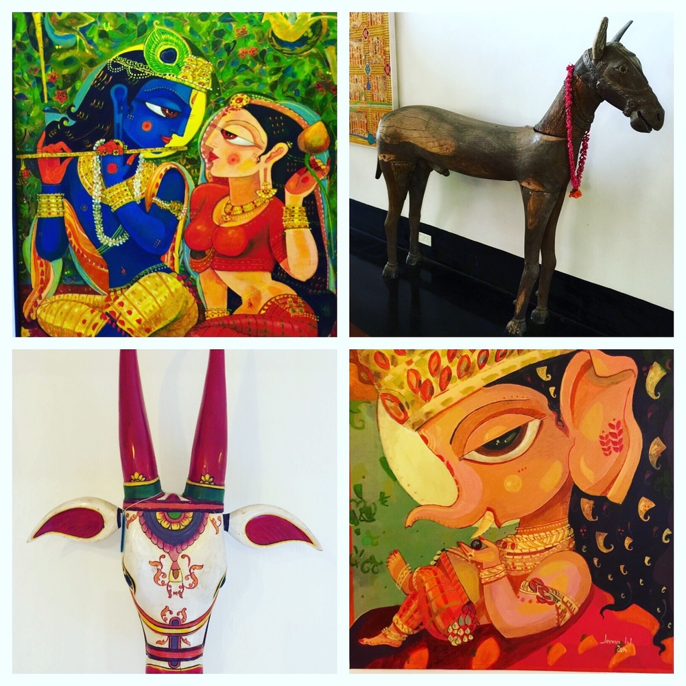 Cochin or Kochi is a great centre for looking at and buying Art & Antiques.