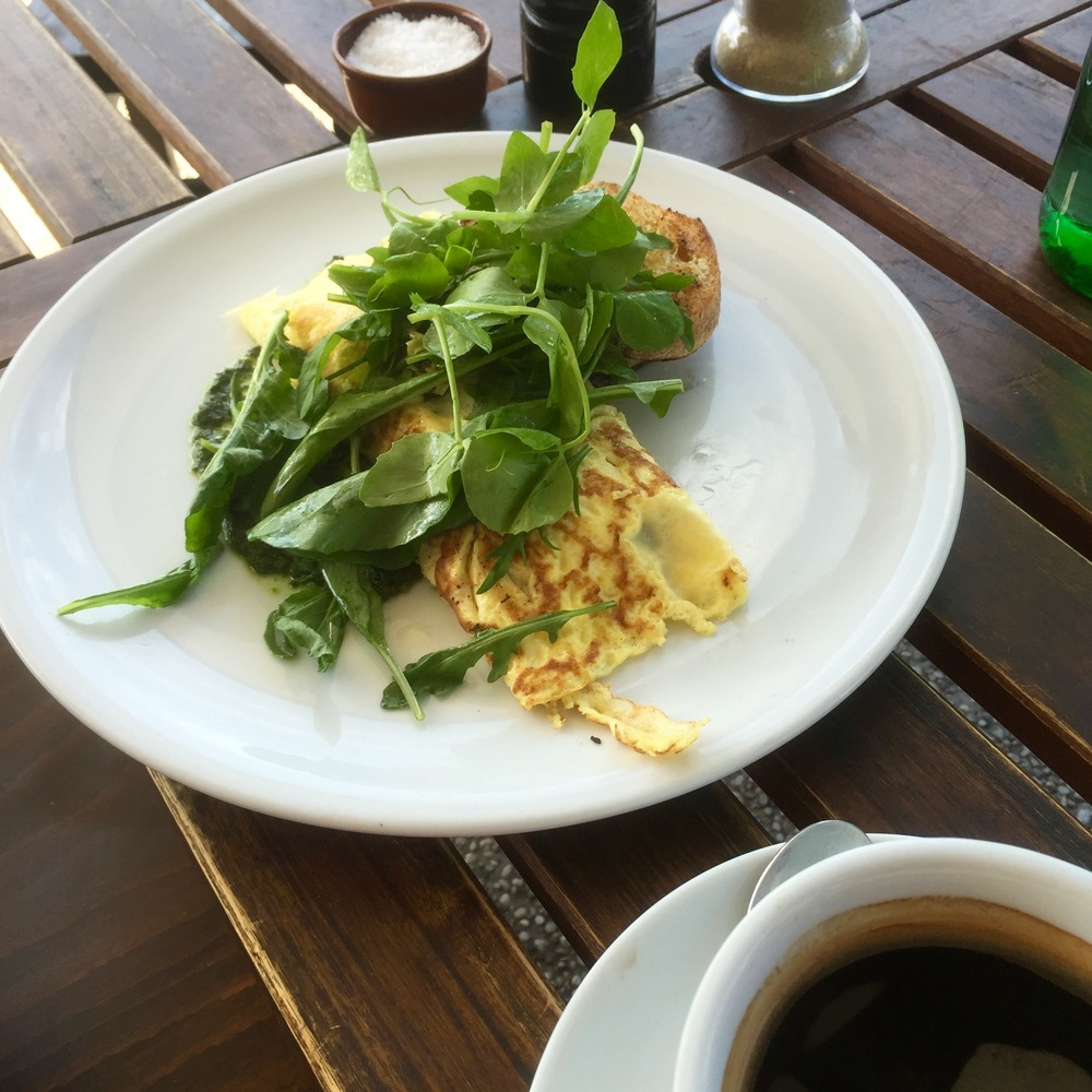 Fabulous Australian breakfast. Possibly the healthiest, yummiest breakfasts in the world!