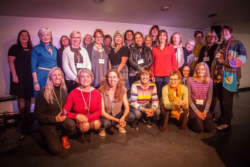 The speakers & attendees of Magnificence in Midlife & Beyond