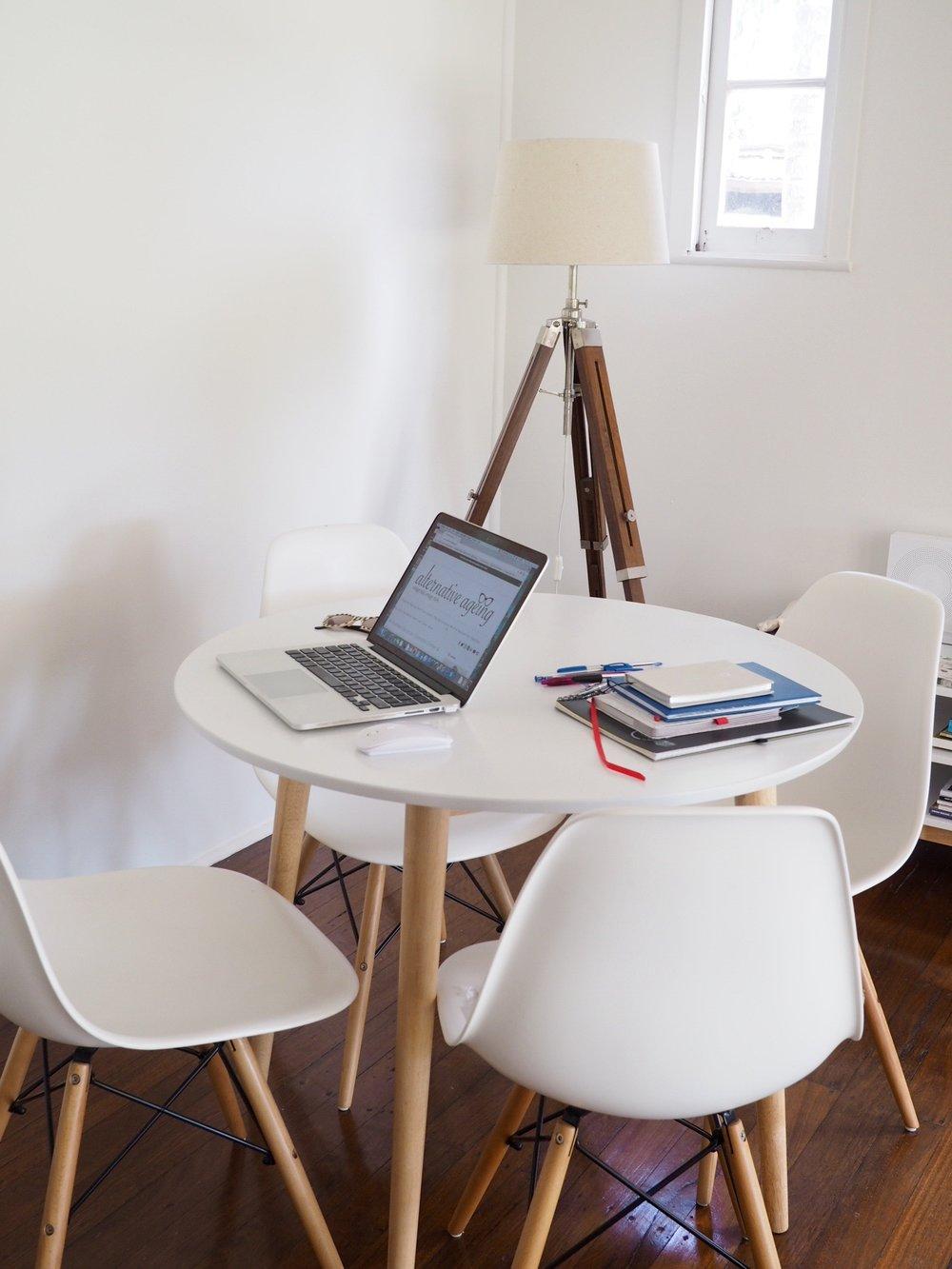 My work corner........