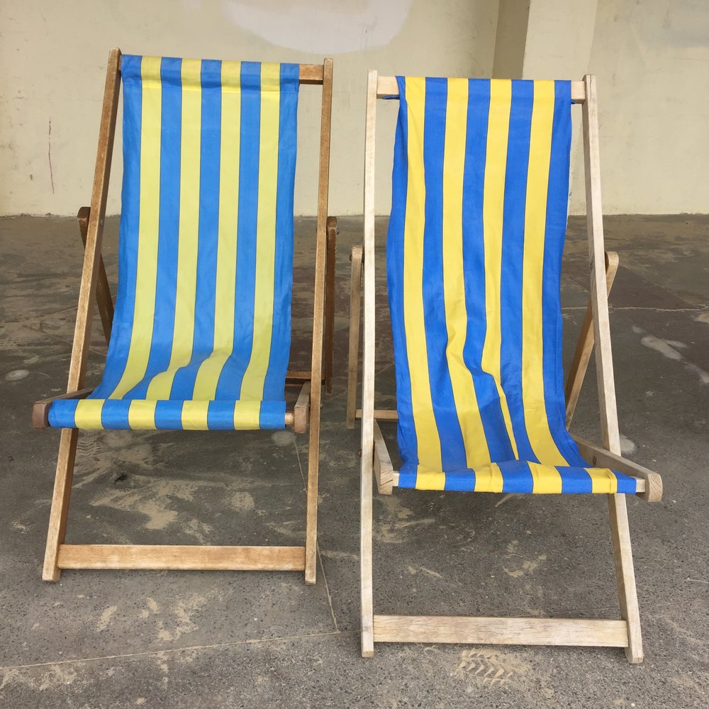 Two by two deckchairs. what do you do if there's only one of you?