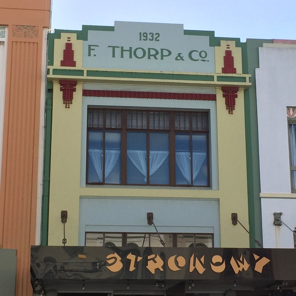 Napier. NZ. Art Deco.