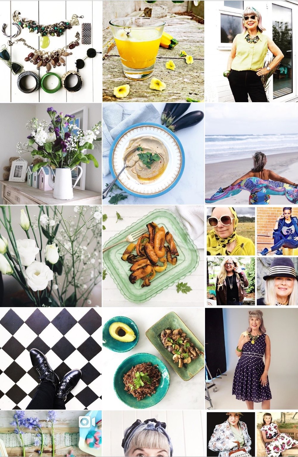 My Instagram account. @alternativeageing. Daily fashion, food & lifestyle posts.