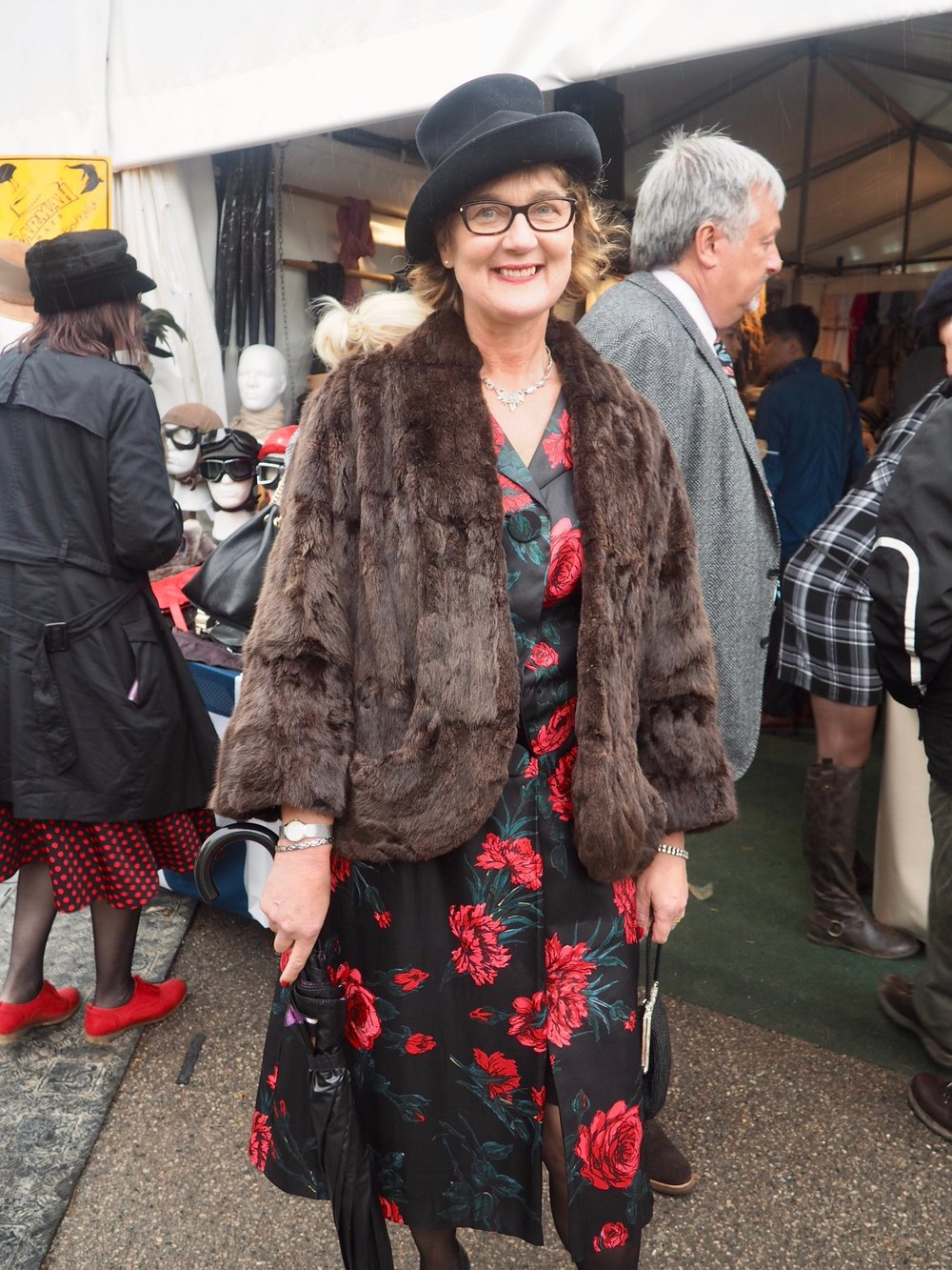 Dressing up for retro Goodwood Revival