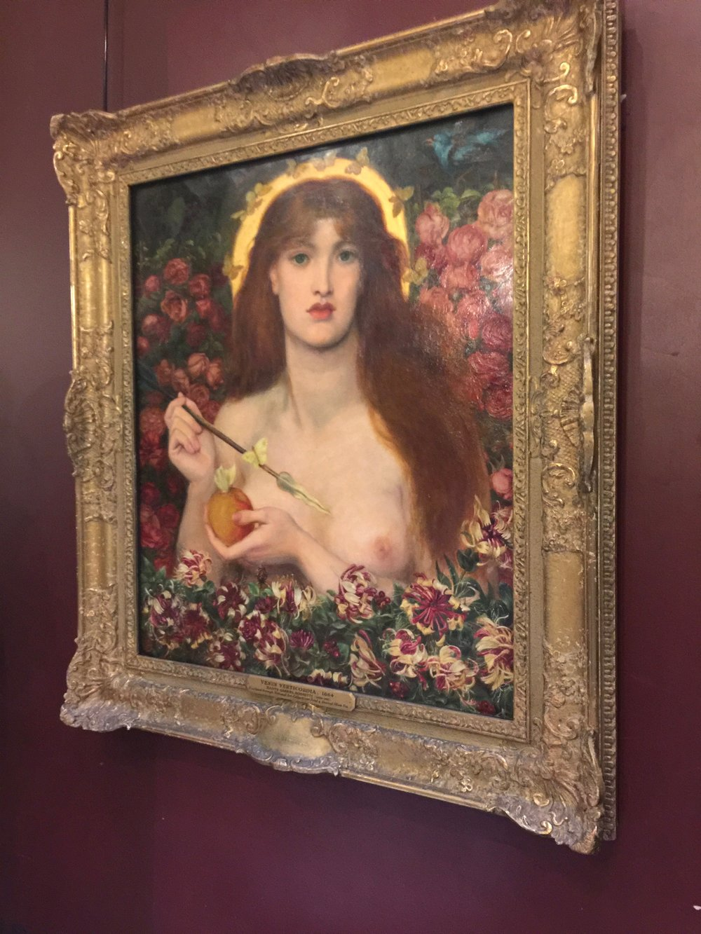 Rosetti at the Russell-Cotes Museum.