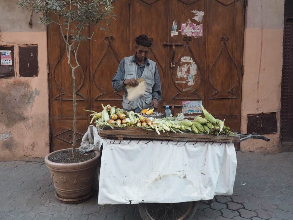 Fast food in Marrakech!