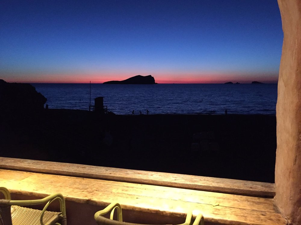 Ibizan sunset