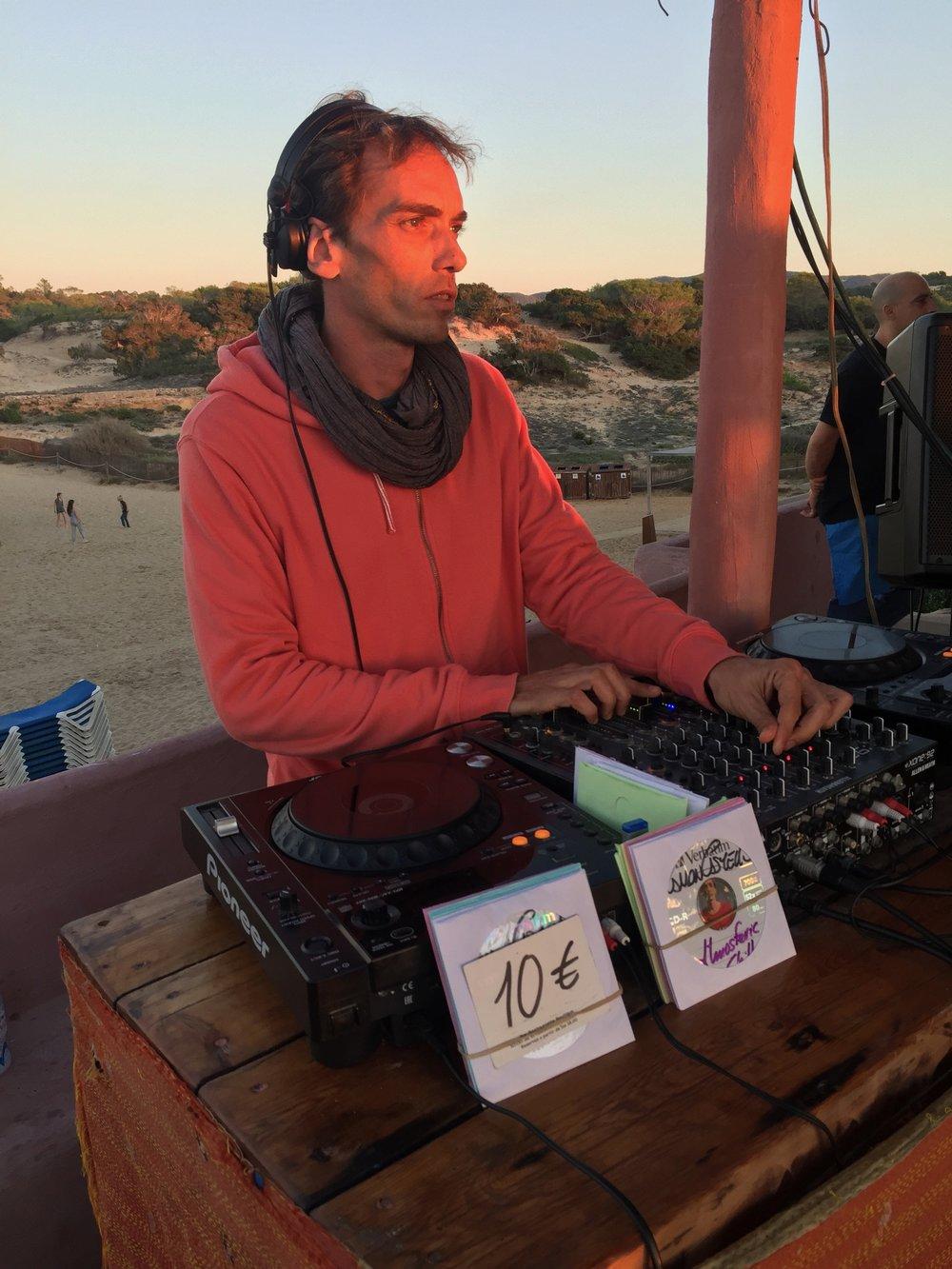DJ in Ibiza