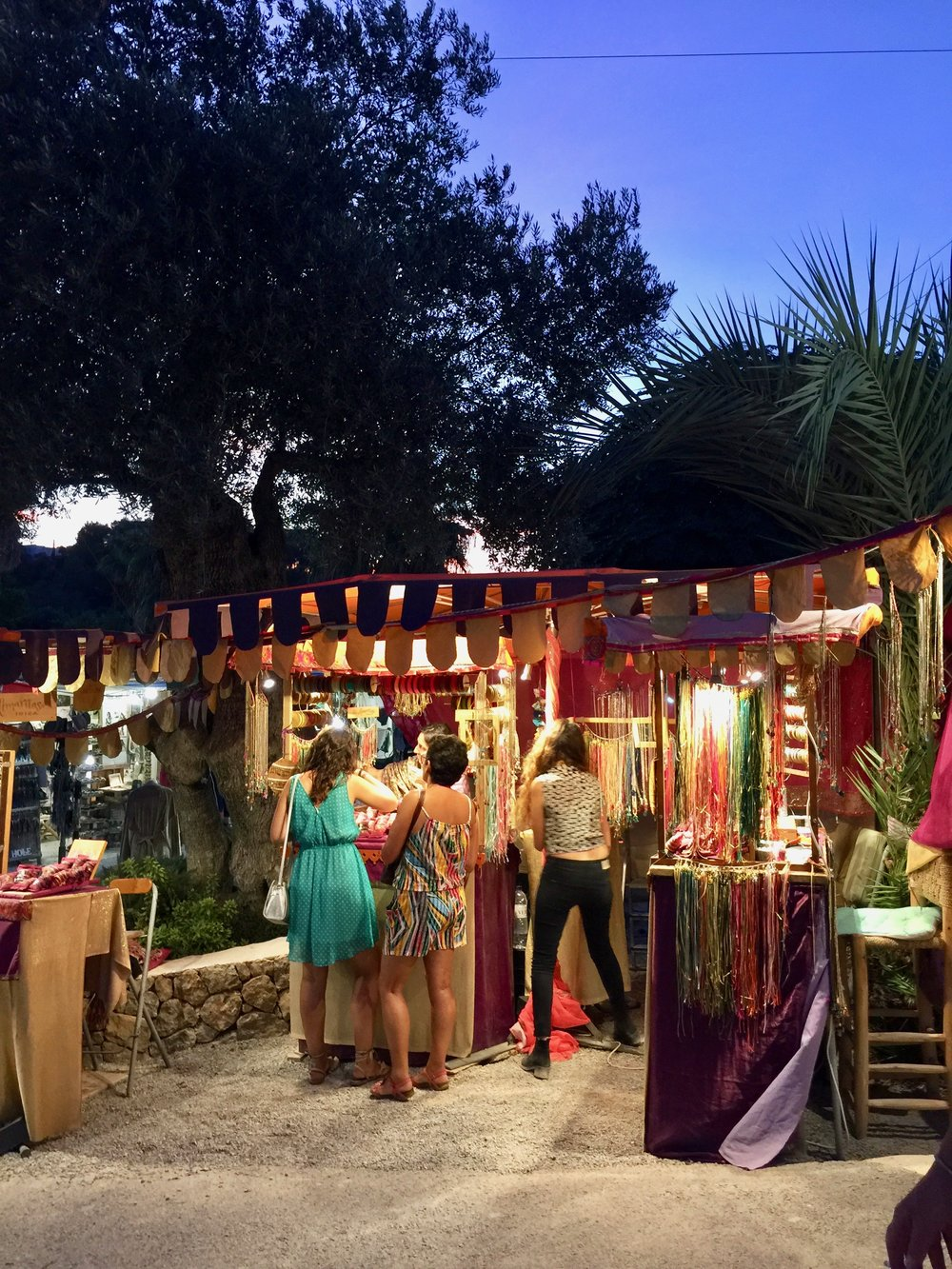 Las Dalias Night Market, Ibiza