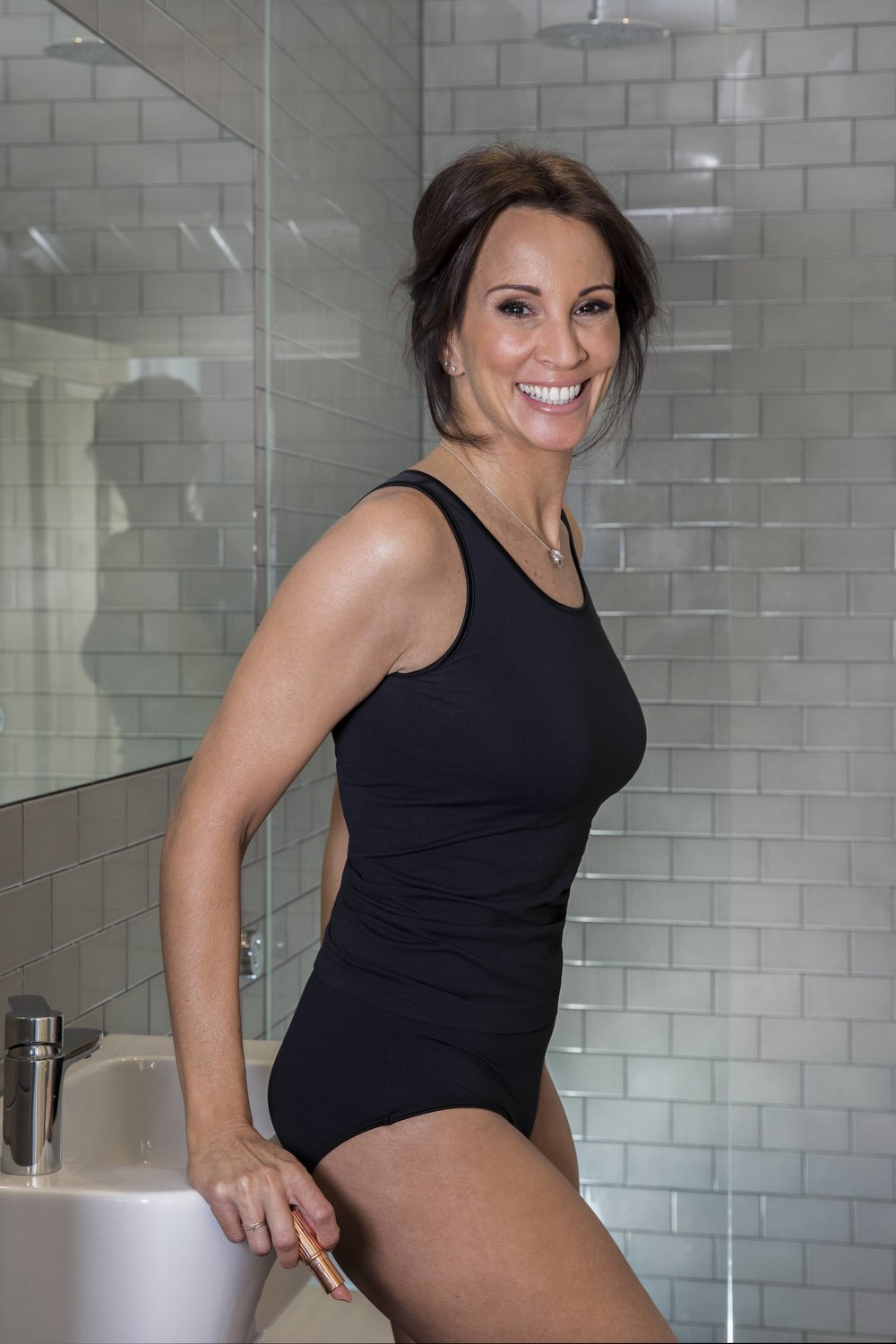 ANDREA MCLEAN WEARING BECOME UNDIES - THE UNDERWEAR THAT HELPS BANISH MENOPAUSAL HOT FLUSHES