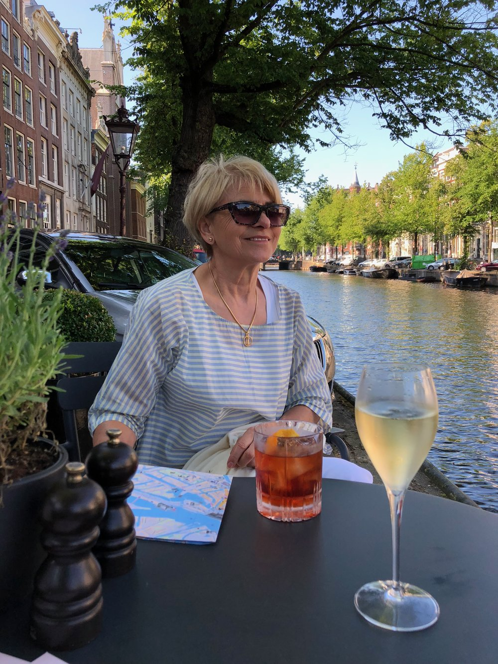 Cocktail hour in Amsterdam