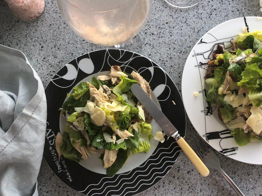 Easy & quick Caesar Salad