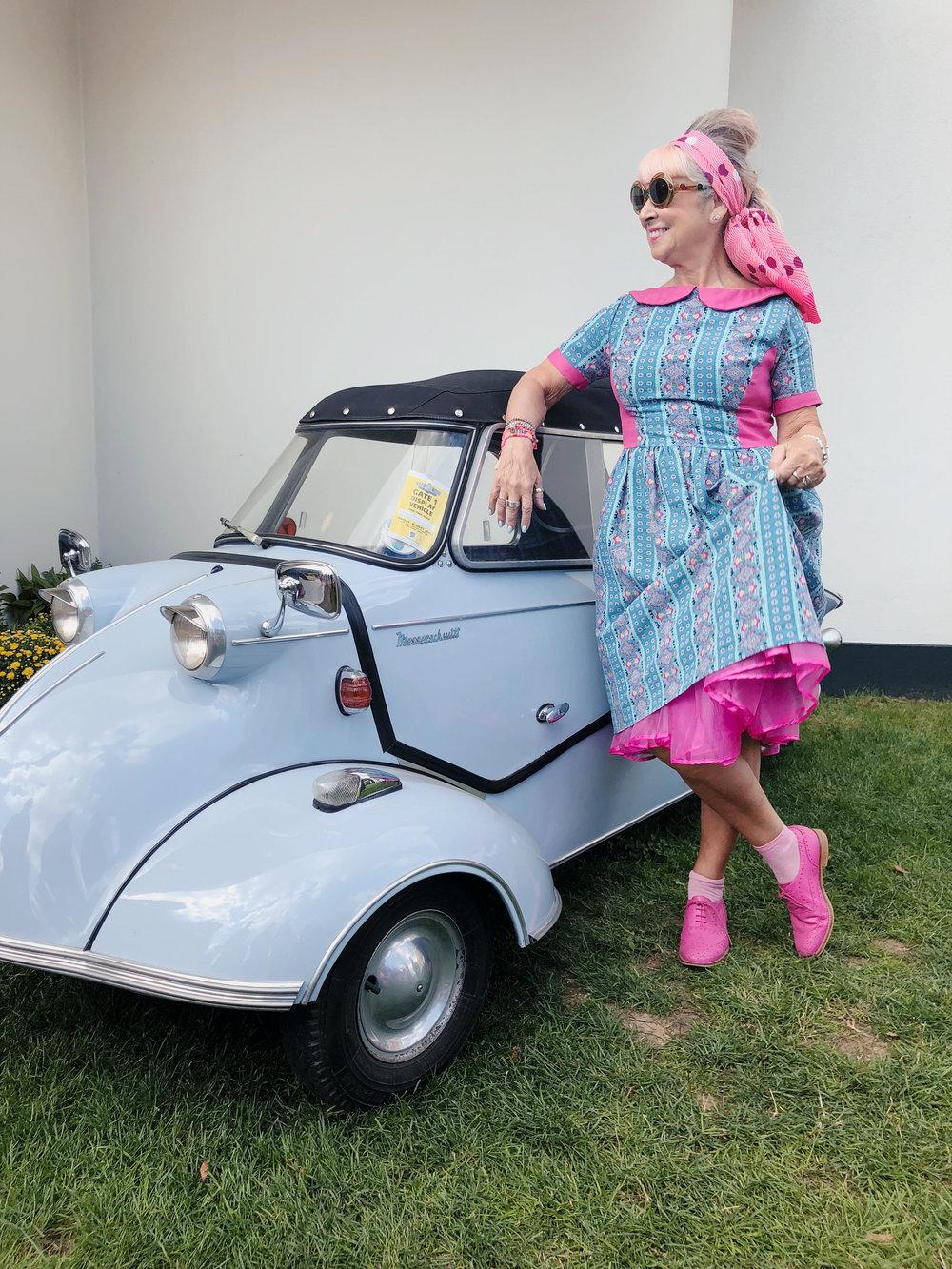 vintage car, vintage dress, goodwood revival.jpg