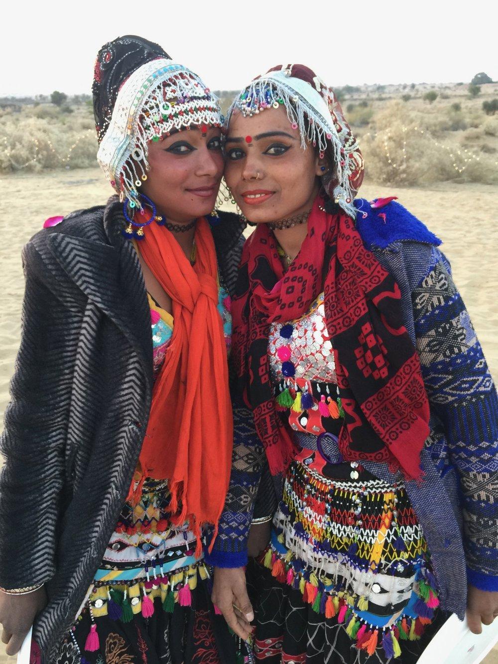 Bikaner tribal costume