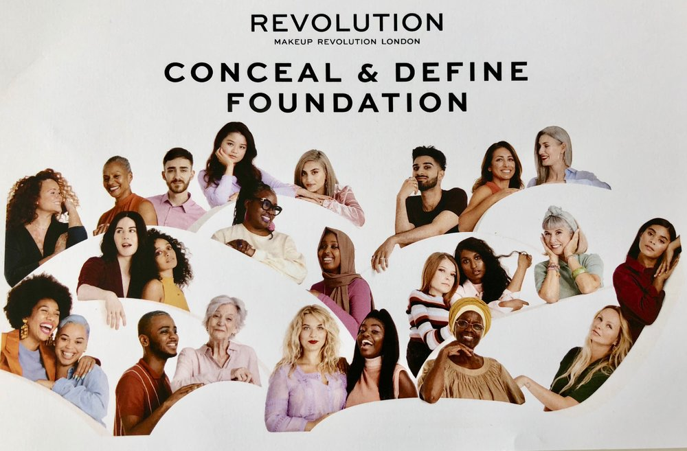 Diversity with revolution makeup