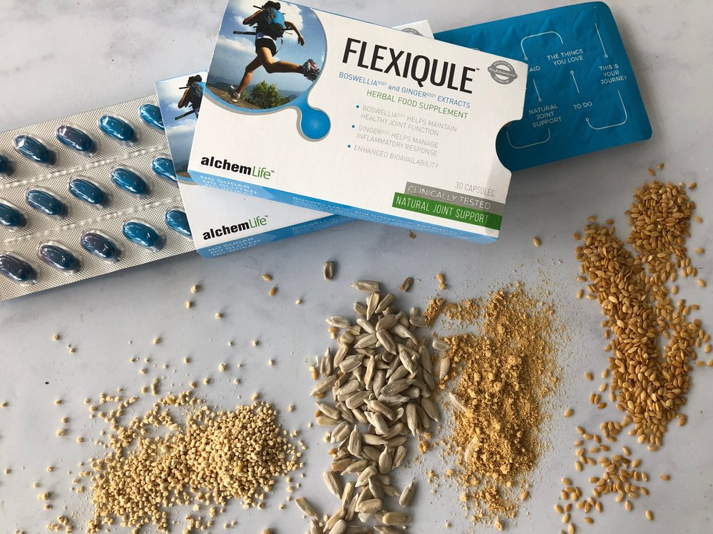 FlexiQule joint relief and its ingredients
