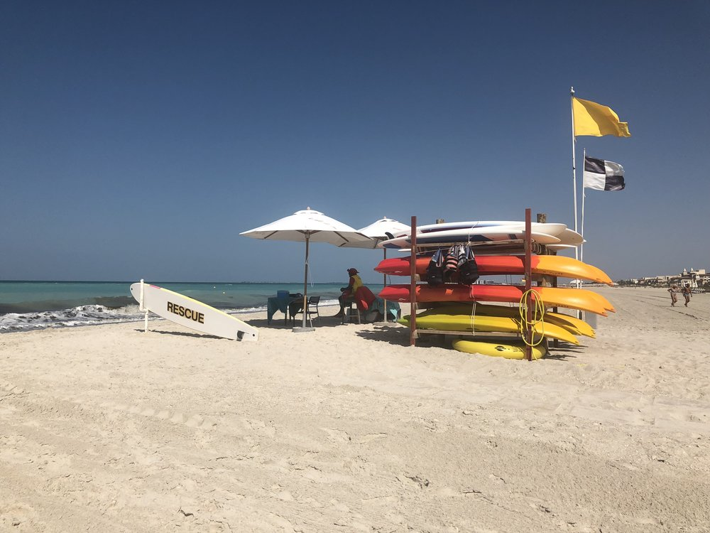 St Regis Hotel, beach, Abu Dhabi.jpg