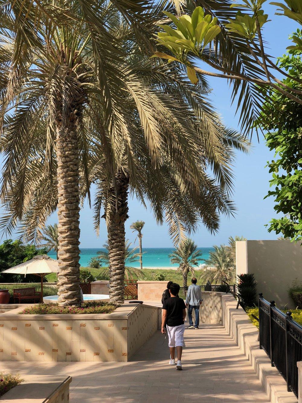 WALK TO THE BEACH ST. REGIS, ABU DHABI.jpg