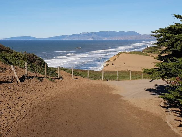 A beautiful day on the Pacific Coast just south of San Francisco.  #coast #coastline #ocean #sanfrancisco #usa #travel