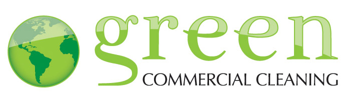 Green Commercial Cleaning logo   Designed with Illustrator