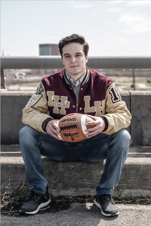 "★★★★★   Senior Portraits  ""Harry was with great with my son, got him comfortable, spent lots of time with us, above and beyond what I thought to make sure we were happy! Will definitely use again!""  — Stacey W (Photographed: Gavin L)"