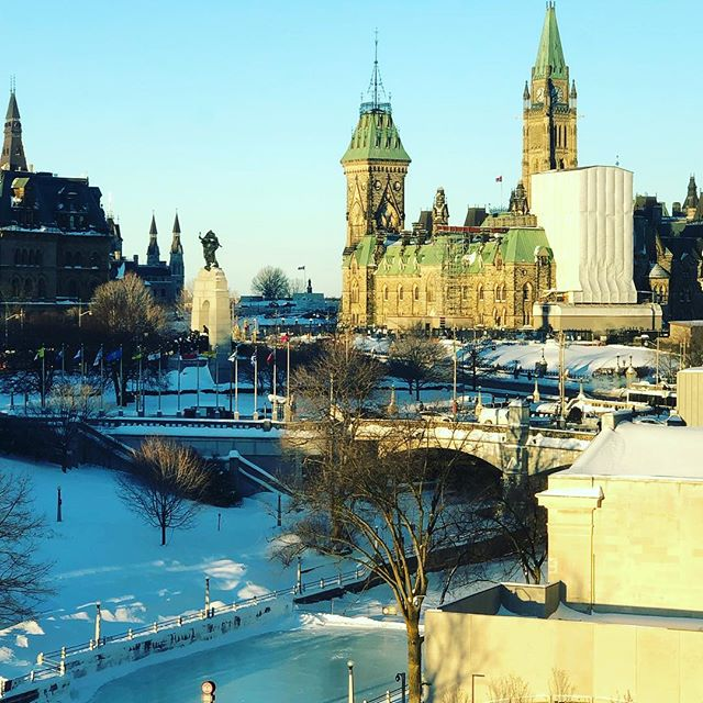 A beautiful morning in Ottawa!  #cannexus19 #careercoach #businesscoach #worklife