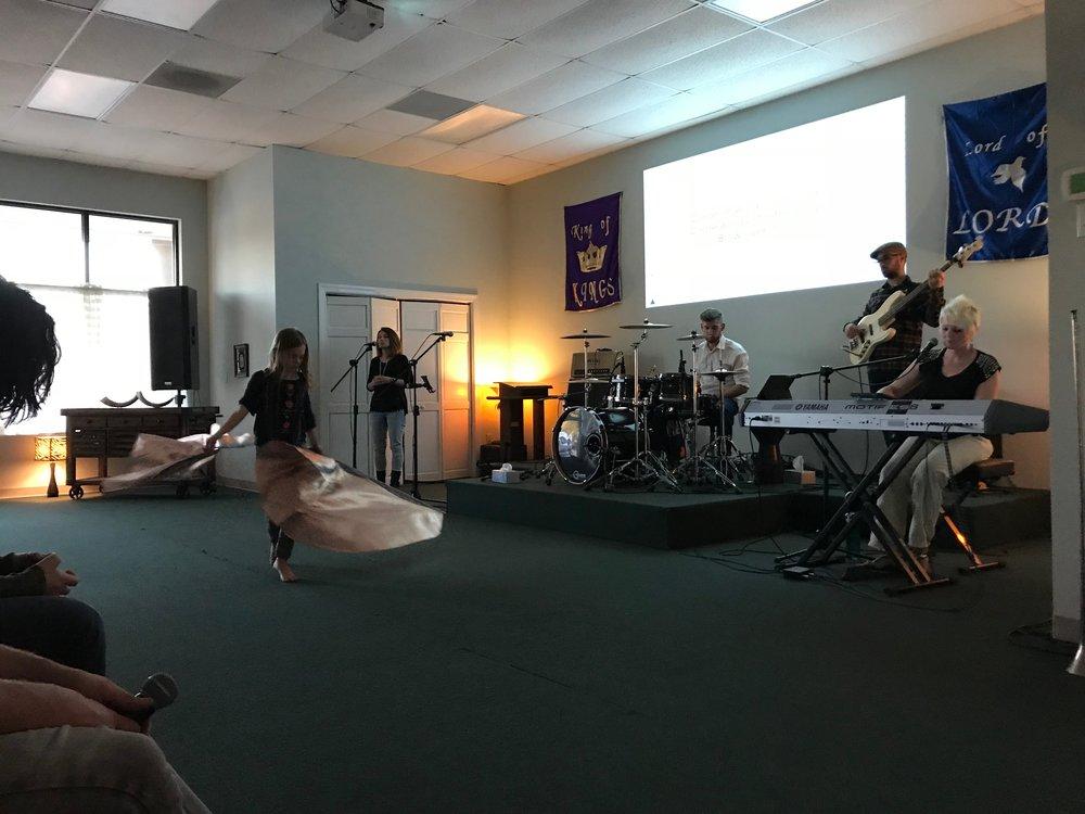 Worship - through dance