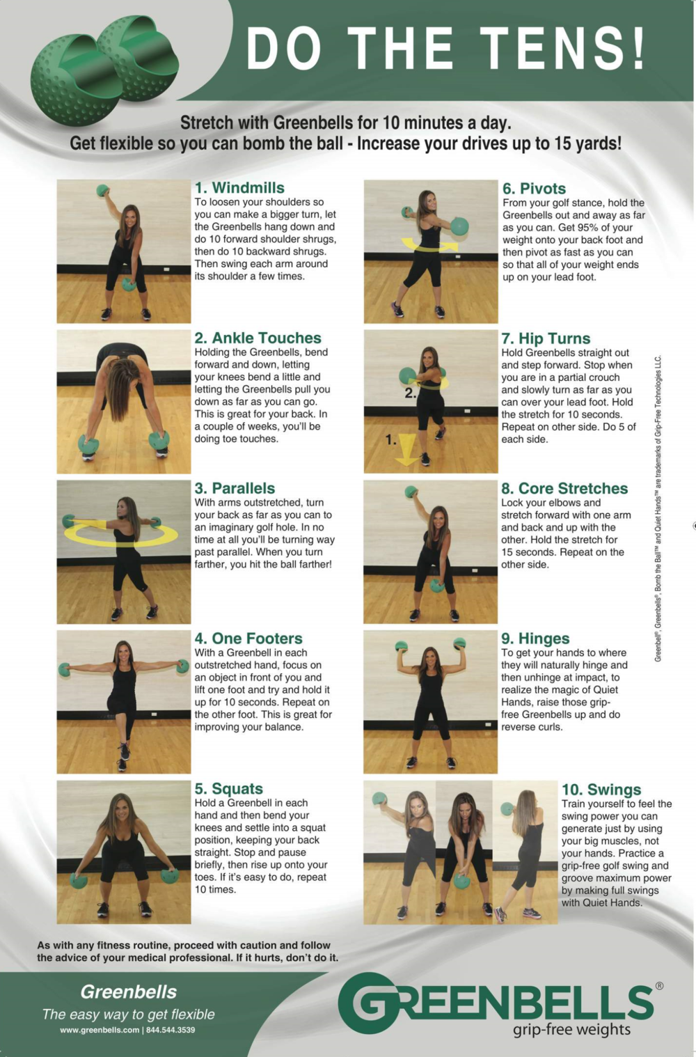 DO THE GREENBELL TENS WITH TAMMY RANDOLPH
