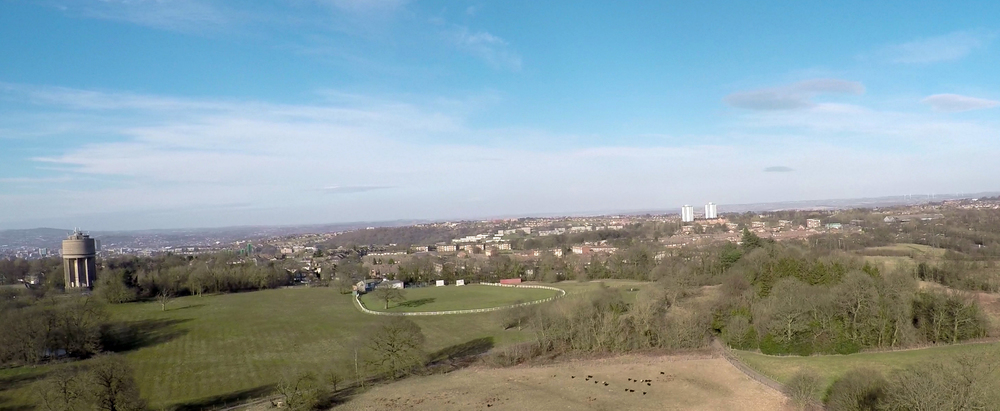Phantom 2 + GoPro 4 (Still image taken from video)