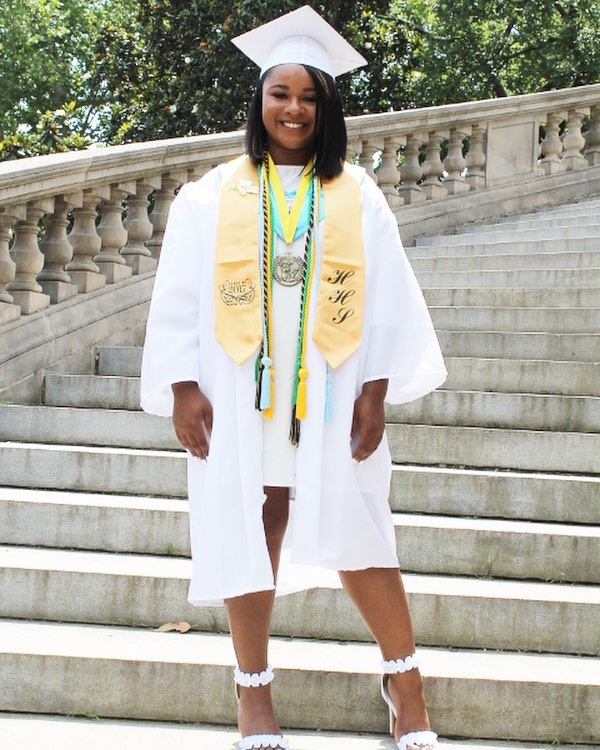 Congratulations to our event assistant, Kariyah on her recent graduation. She graduated in the top 10 of her class & will be attending James Madison University on a 4 year academic scholarship. So proud!
