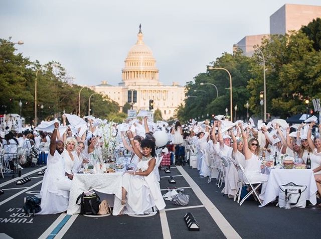 We had such a blast @dinerenblancdc.  The Capital made for an amazing view. Finally checked it off of the bucket list ✅.
