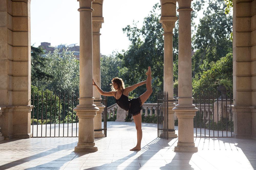Laura en Barcelona, España.