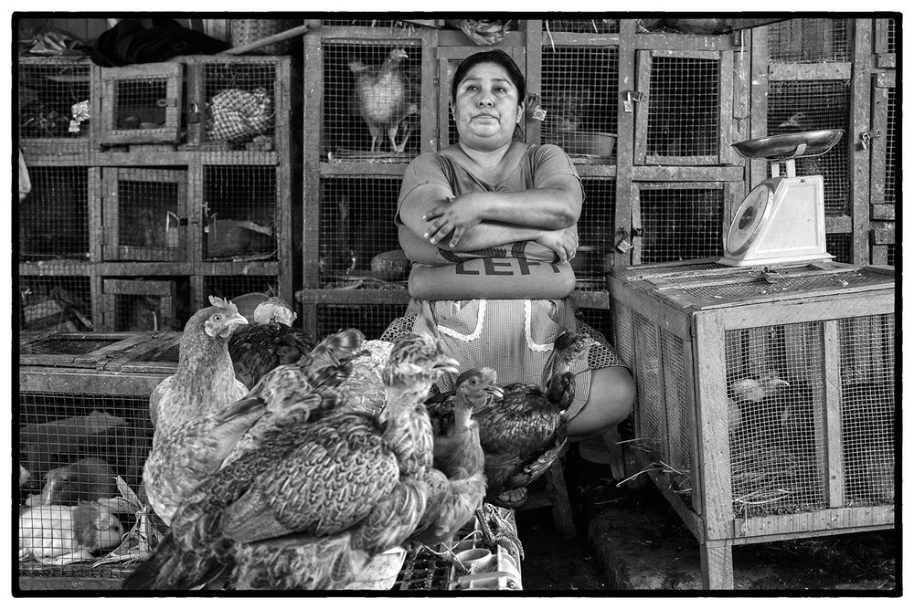 Market portraits - Tingo Maria