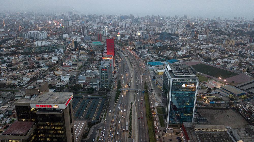 Vía Expresa, Lima, Perú.
