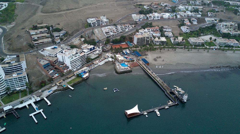 Yacht Club Ancón, Lima, Perú.