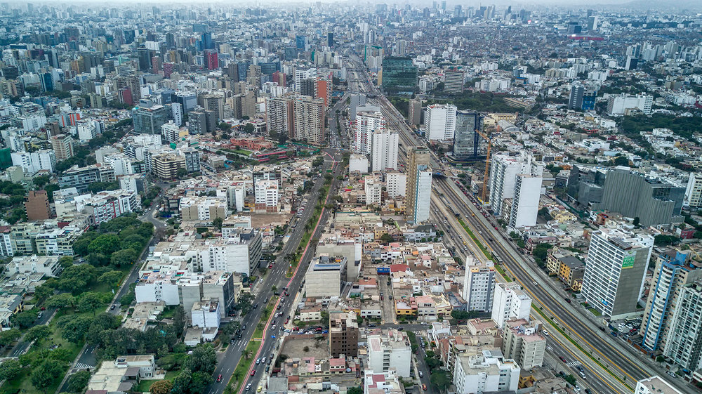 Vía Expresa, Lima.