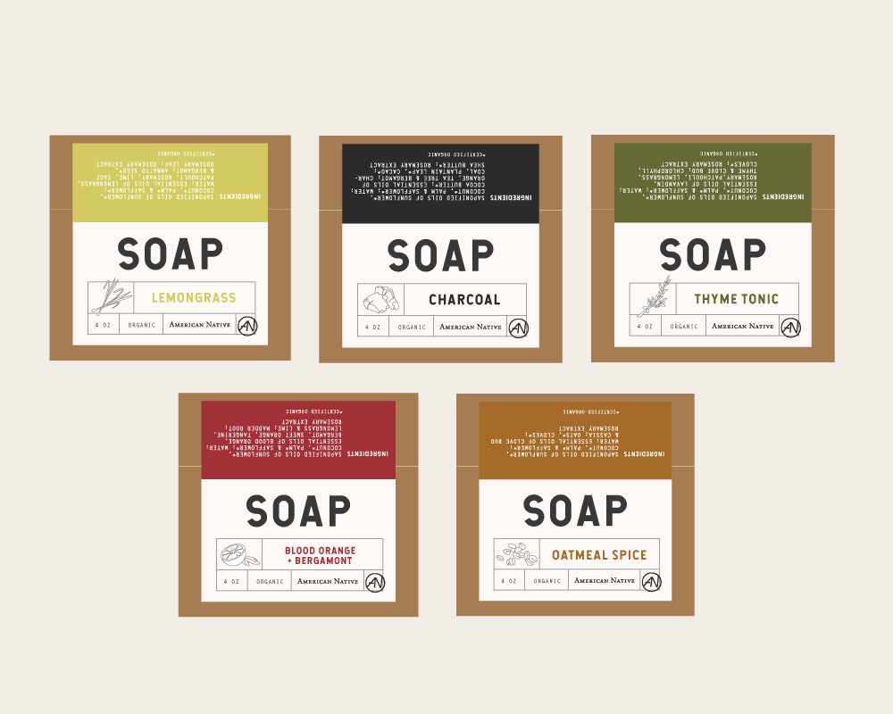 Soap illustration and design a collaborative effort between Blake, Clayton & Bobby Chamberlain