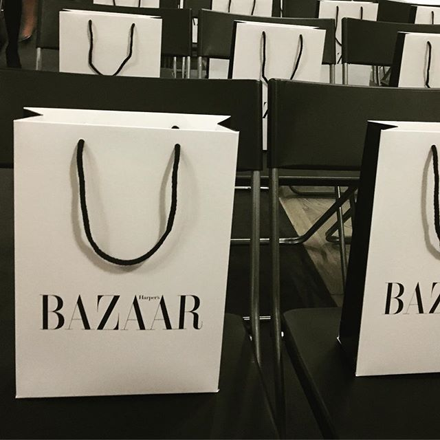 What an event last night with @amandawakeley and @bazaaruk  Major takeaways: be sincere, be tenacious and be yourself!! Killer ladies #girlboss #richgirlskin #gracebelgravia