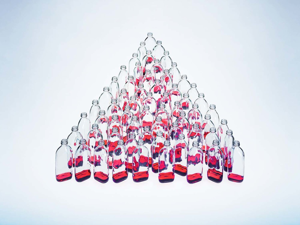 Triangle Bottles