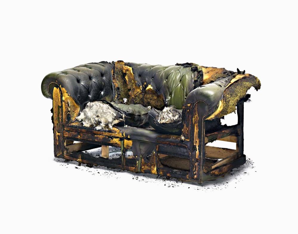 Burnt Sofa
